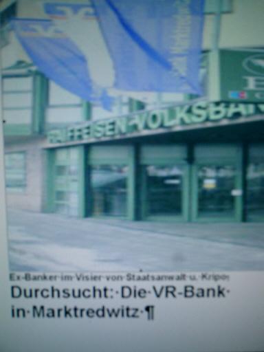 Gästebuch zu VR-Bank Marktredwitz eG